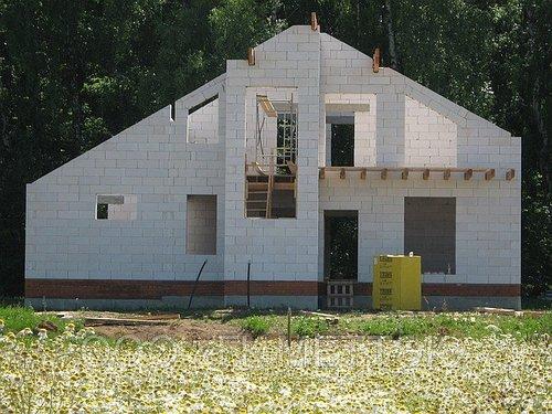Насколько вредные дома из газосиликатных блоков