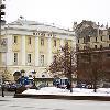 Материалы CAPAROL использовались для защиты фасада Малого театра